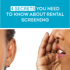 Choosing a rental screening provider: Your cheat sheet
