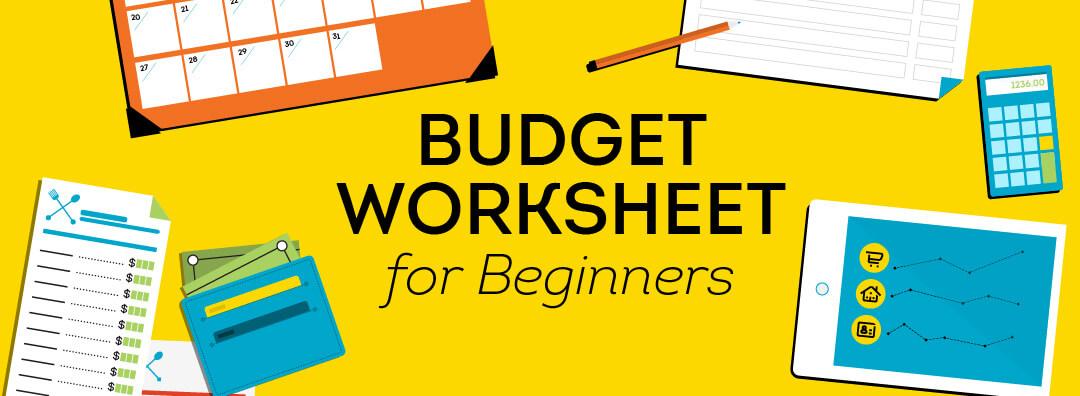 budget worksheet for beginners transunion