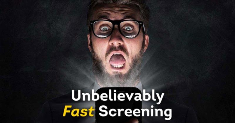 unbelievably fast pre-employment background screening