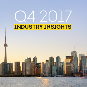 Industry Insights Q4 2017: Millennials Moving up, Gen Z Growing up