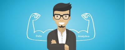 通过数据和分析从欺诈者手中夺回权力的横幅图像