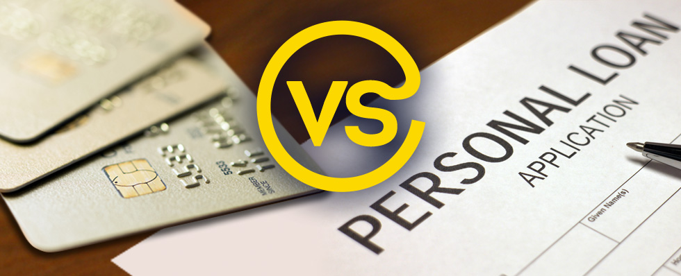 Credit cards vs. personal loan