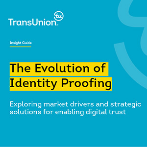 The Evolution of Identity Proofing Insight Guide Cover Thumbnail
